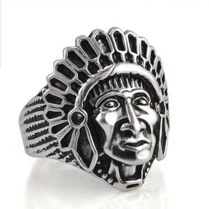 mens chunky statement ring